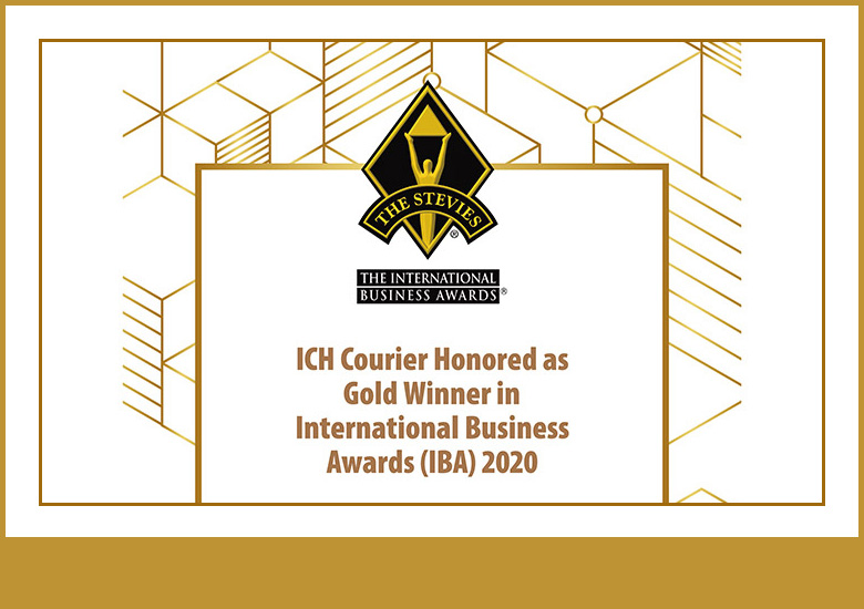 ICH Courier Honored as Gold Winner in International Business Awards 2020