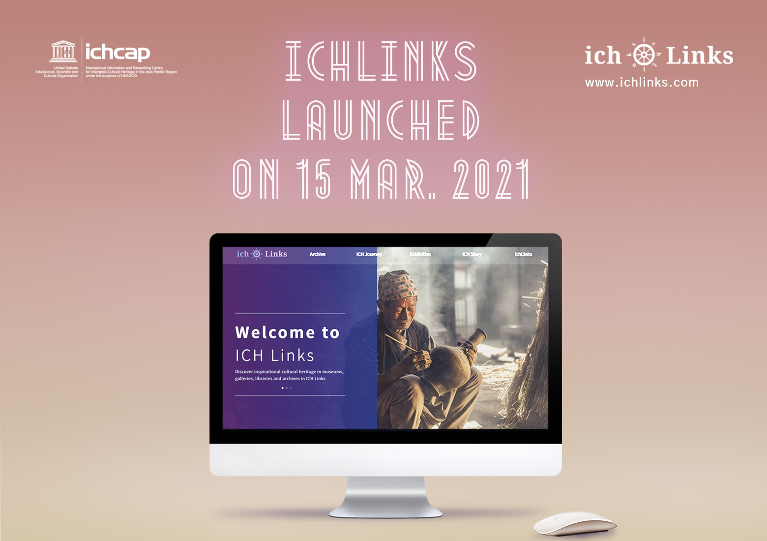 ICH Information-sharing Digital Platform ichLinks Launched on the 15th of March 2021